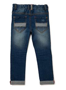 Dark Denim Ripped Jeans (9 months- 6 years)
