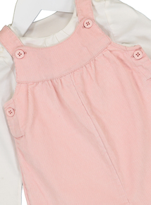 Pink Bib Shorts, Body & Tights Set (0-24 Months)