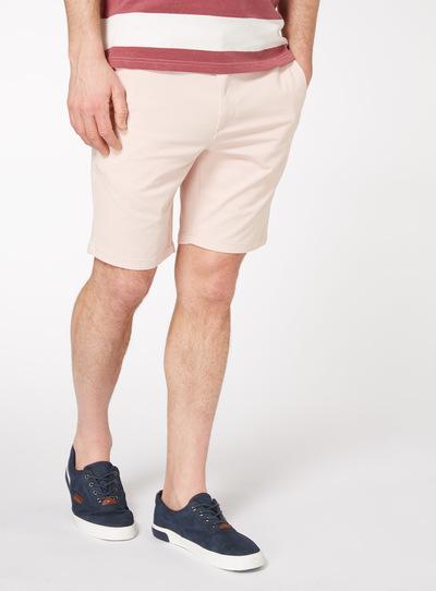 Pastel Pink Chino Shorts