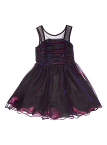 Purple Party Dress (3-14 years)