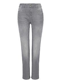 Grey Girlfriend Jeans