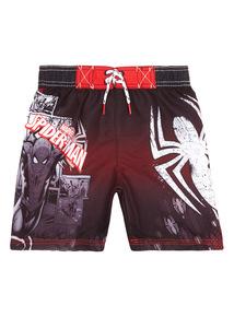 Multicoloured Disney Spiderman Swim Shorts (3 - 12 years)
