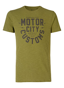 Green Motor City T-Shirt