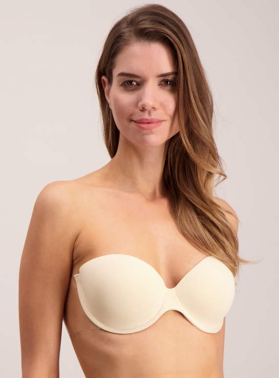 bd0e27cb7ef5e Womens Online Exclusive Nude Stick On Strapless Winged Bra