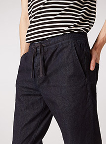 GFW Dark Denim Utility Relaxed Fit Jeans