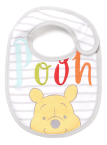 Multicoloured Disney Winnie the Pooh Bib
