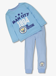 Online Exclusive Manchester City Blue Pyjamas (2-12 years)
