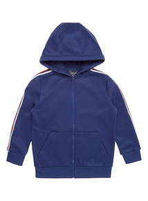 Boys Navy Active Hoodie (3 - 14 years)