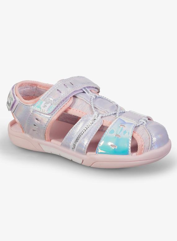 a0c6ba12efb Kids Pink Closed Toe Sandals (6 Infant - 4)