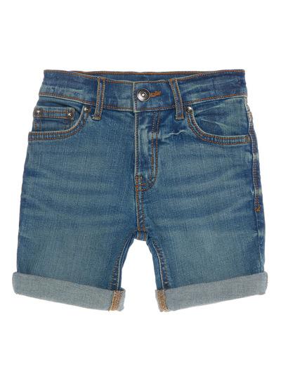 Blue Mid Wash Denim Shorts (3 - 14 Years)