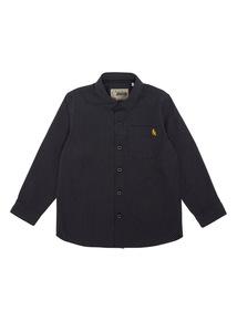 Boys Black Spot Shirt (3-12 years)