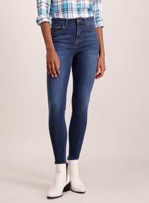 Dark Denim Skinny Stretch Jeans
