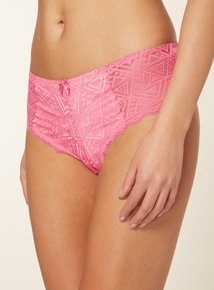 3 Pack Galloon Lace Brazilian Briefs