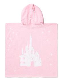 Pink Disney Belle Poncho