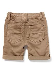 Stone Woven Loopback Shorts (3-14 years)