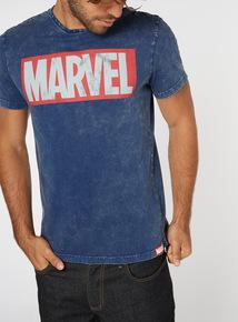 Navy Marvel T-Shirt