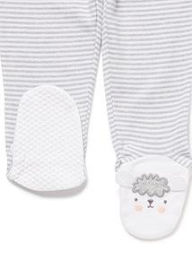Grey Sheep Pyjama Set (0-24 months)