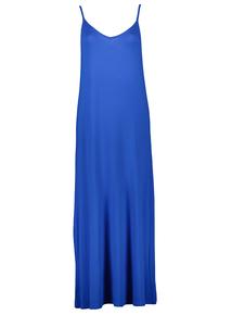 Blue Cami Strap Maxi Dress