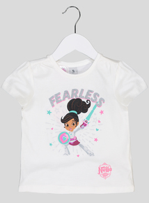 White Nella The Princess Knight T-Shirt (9 months-6 years)