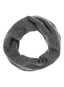 Grey Knitted Thinsualte Snood