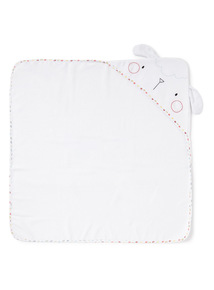 White Sheep Towel (0-24 months)