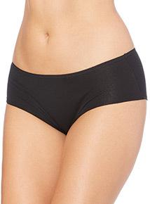 Black Plain Shorts 5 Pack