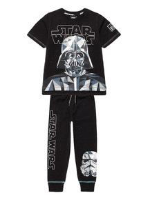 Multicoloured Disney Star Wars Darth Vadar PJ Set
