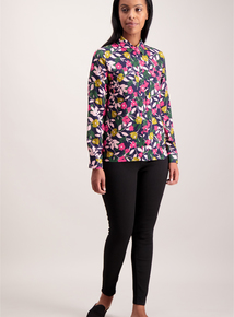 Online Exclusive Multicoloured Floral Western Shirt