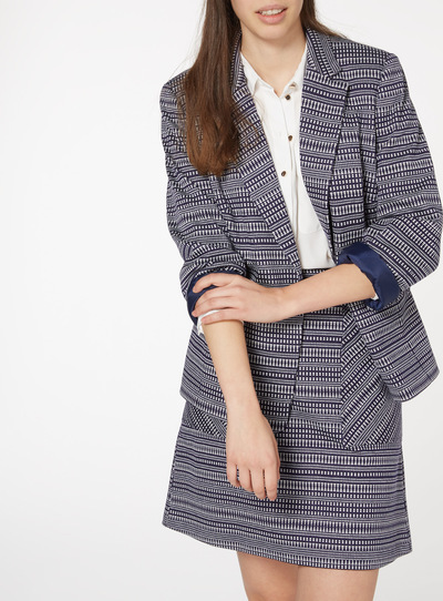 Dotted Stripe Jacket