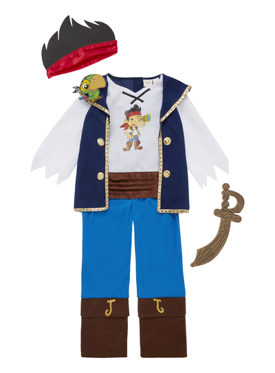 e30a15f37f220 Fancy Dress Kids Disney Jake And The Neverland Pirates Costume (1-6 years)    Tu clothing