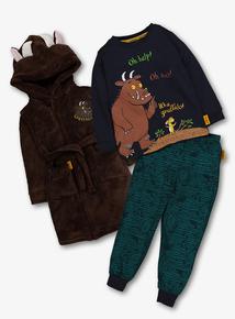 The Gruffalo 3 Piece Nightwear Set (1-7 Years)