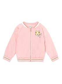 Multicoloured Embroidered Bomber Jacket (9 months-6 years)