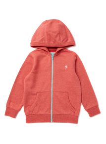 Red Zip Through Hoody (9 months-6 years)