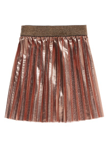Gold Pleated Skirt (3 - 12 years)