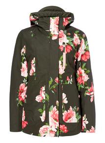 Floral Print 4 in 1 Jacket