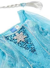 Blue Disney Frozen Elsa Fancy Dress Costume