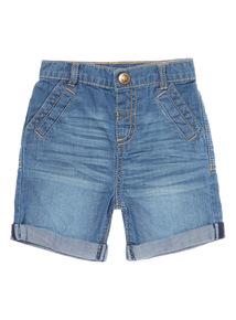 Denim Shorts (0 - 24 months)