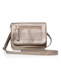 Metallic Cross-Body Bag