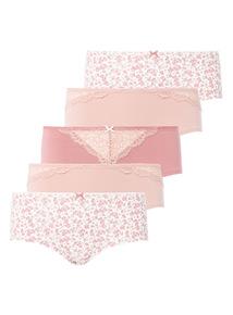 5 Pack Lace Short