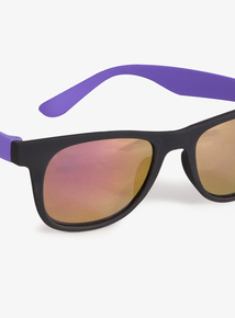 d91a740830a Matte Black   Purple Sunglasses (Small - Regular)