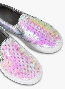 Online Exclusive Reversible Sequin Skater Shoes (6 Infant - 4)
