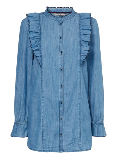 Blue Denim Fill Tunic