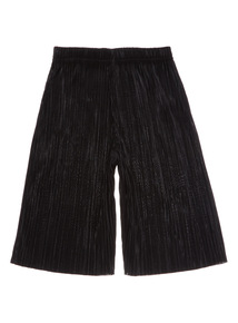 Black Plisse Culottes (3 - 12 years)