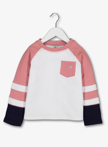 Colour Block Sweatshirt (3-14 Years)