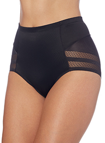 Black No VPL Tummy Sculpting Brief