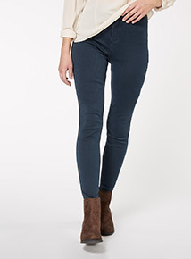 Dark Denim High Waist Skinny Jean