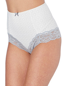 Lace Trim Brazilian Briefs 2 Pack
