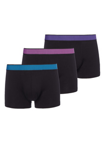Bright Waistband Hipsters 3 Pack