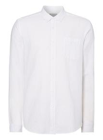 White Linen Rich Shirt