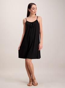 Black Bow Detail Cami Dress